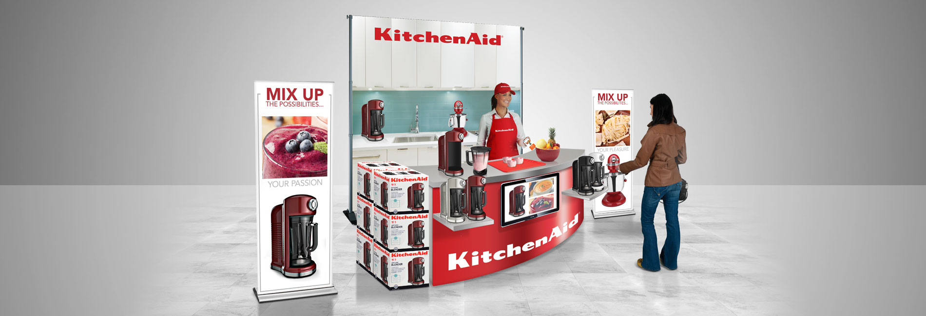 kitchen aid demo concept rendering